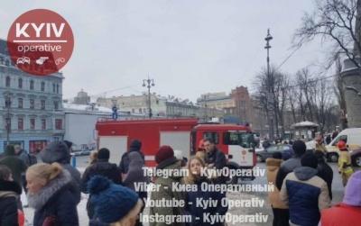У Києві горить Бессарабський ринок