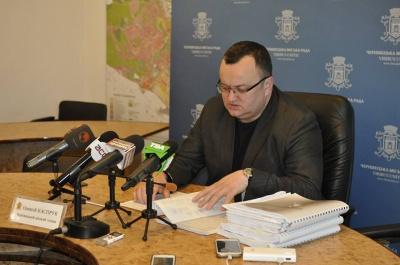 Каспрук вважає, що депутати в Чернівцях свідомо затягують бюджетний процес
