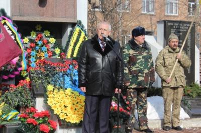 У Чернівцях мітингом і молебнем вшанували пам'ять загиблих в Афганістані