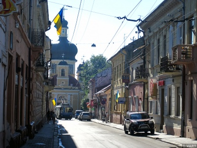Автор петиції про парк Реформації в Чернівцях хоче перейменувати вулицю Руську в Європейську