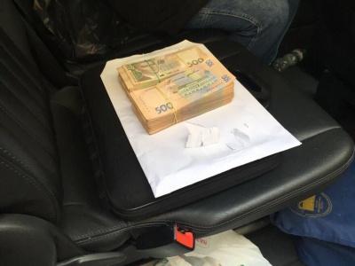 Голову Фонду соцзахисту інвалідів затримали на хабарі 700 тисяч гривень