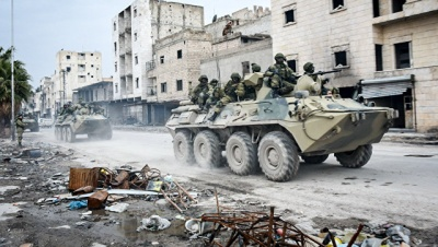 В Сирии на мине подорвались российские военные. Четверо погибли