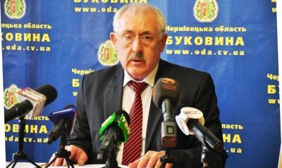 Фищук каже, що Каспрук ще не звертався до нього з проханням розпустити Чернівецьку міськраду
