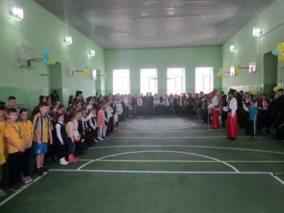 В буковинской школе отремонтировали спортзал за полтора миллиона