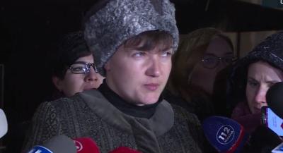 У СБУ до Савченко багато запитань