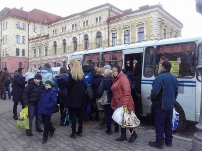 Сьогодні у Чернівцях на рейс вийшли 70 відсотків маршруток