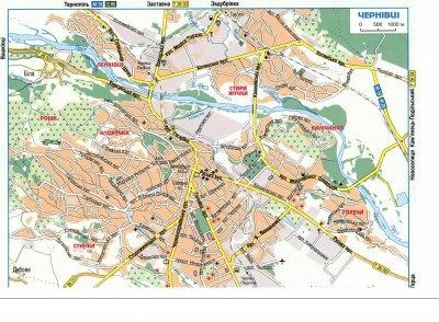 Бульвар Буковинського Віча і вулиця Смарагдова: у Чернівцях з'явилися нові вулиць