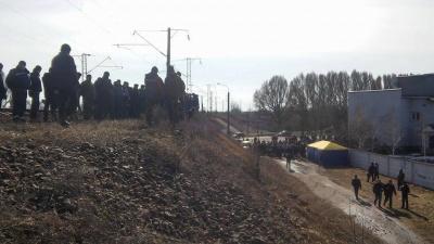 У прокуратурі розповіли про дії блокадників залізниці у Конотопі