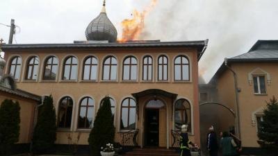 На Буковине горел мужской монастырь