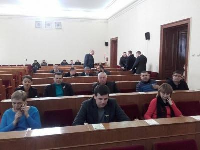 Сесія Чернівецької обласної ради ще не зібралася - нема кворуму