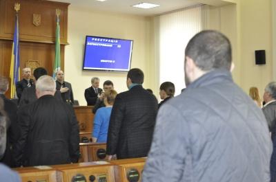 Сесія Чернівецької облради проголосувала за підтримку торгівельної блокади (ФОТО)