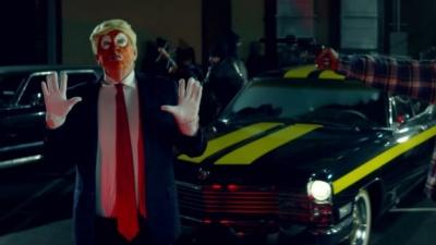 Відомий репер у своєму кліпі вистрілив у Трампа (ВІДЕО)