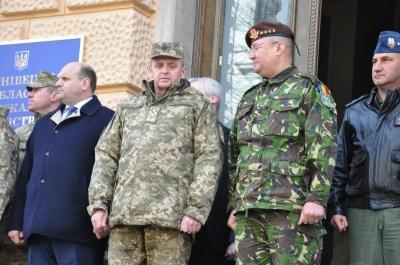 Начальники Генштабів України і Румунії підписали в Чернівцях План співробітництва