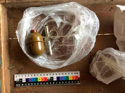 Поліція вилучила в буковинця гранату, яку він привіз із зони АТО