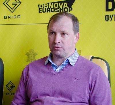 """""""Мы хотим построить команду, которая будет достигать результатов"""", - тренер  """"Буковины"""""""