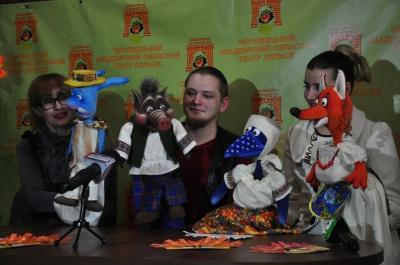 В театре кукол - премьера: детей будет встречать Арлекино с Коломбиной (ФОТО)