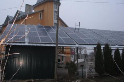 54 буковинці продають електроенергію від сонячних батарей