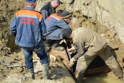 На водогоні «Дністер - Чернівці» розпочались планові ремонтні роботи