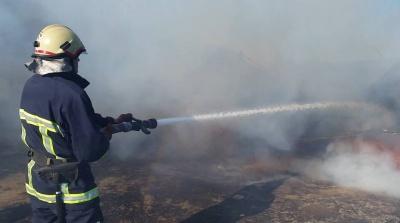 На Буковині загорівся причеп вантажівки з вугіллям
