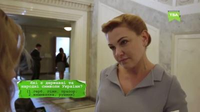 «Назвіть третій закон Піфагора»: Оксана Продан сконфузилась, спілкуючись із «Сарою в кулуарах»