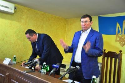 Луценко пояснив, чому звільнив попереднього прокурора Буковини Якимчука
