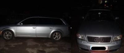 Пограничники на Буковине обнаружили похищенную из Литвы машину
