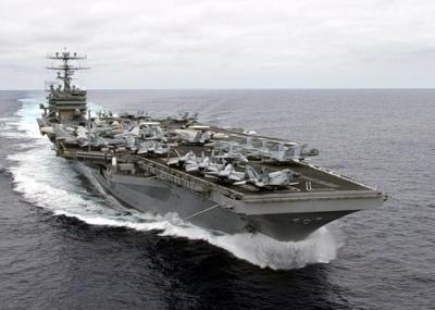 """ЗМІ: У КНДР погрожують потопити американський авіаносець """"Карл Вінсон"""""""