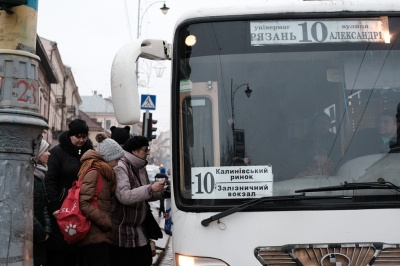 Каспрук заявив, що законна вартість проїзду у маршрутках в Чернівцях - 4 гривні