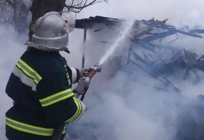 На Буковині горіла кухня через вибух бойлера