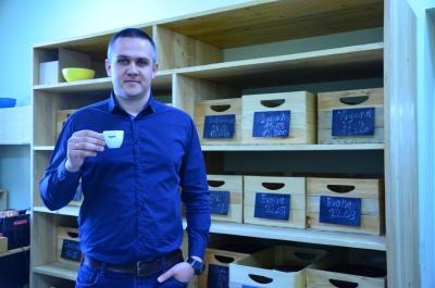 Черновцов рассказал, как создавал известный бренд кофе (ФОТО)