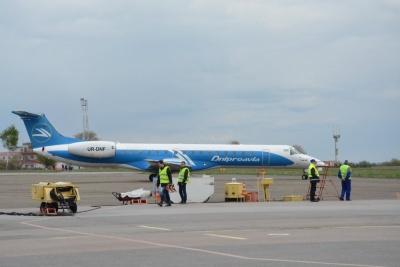 Завдяки авіарейсам до Києва Чернівці заробили 20 мільйонів гривень