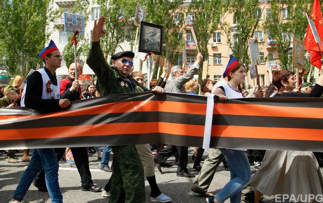 Порошенко пообіцяв підписати закон про заборону георгіївської стрічки