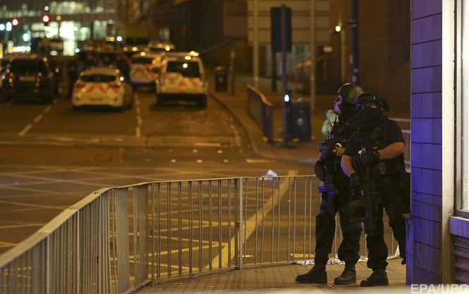 Британська поліція затримала десятого підозрюваного усправі про вибух уМанчестері