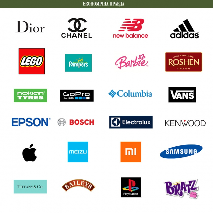 Nike, iPhone і ще1146 торгових марок більше непропустить українська митниця