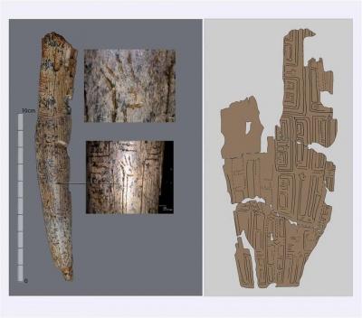 На бивні мамонта – зображення оленя: археологи знаходять на теренах Буковини унікальні давні предмети