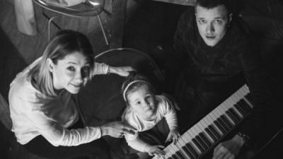 Дружина Галича показала зворушливе фото новонародженого сина