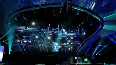 Перша репетиція O.Torvald на сцені Євробачення: з'явилися фото та відео