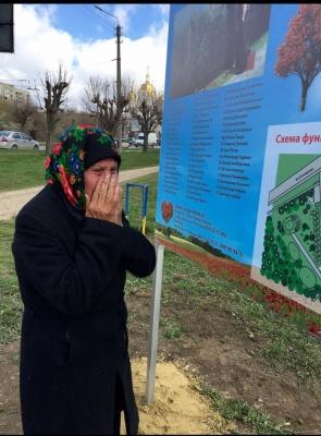 """У парку """"Жовтневому"""" в Чернівцях невідомі викрали дерева, висаджені в пам'ять про загиблих буковинців"""