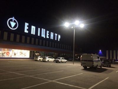 У Чернівцях через повідомлення про замінування «Епіцентру» евакуювали 170 осіб