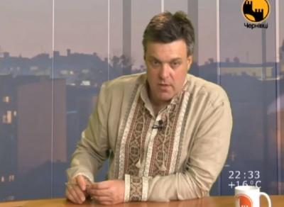 Тягнибок заявив, що підтримує ідею проведення перевиборів Чернівецької міськради
