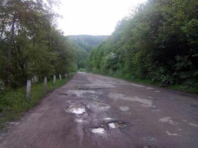 Дорогу до Путили відремонтують, якщо не буде дощу