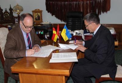 У ЧНУ підписали договір з німецьким товариством: студенти навчатимуться за обміном