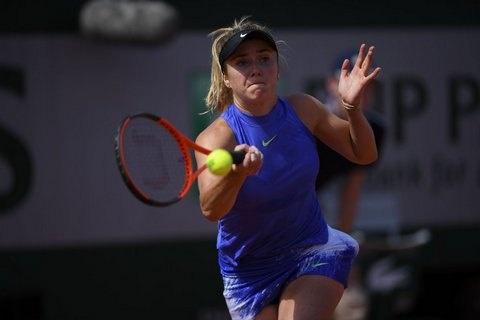 Теніс: Еліна Світоліна пробилася учвертьфінал Ролан Гаррос