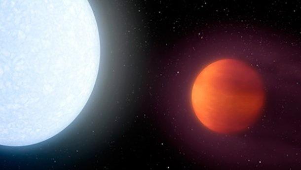 УВсесвіті знайшли екзопланету гарячішу заСонце
