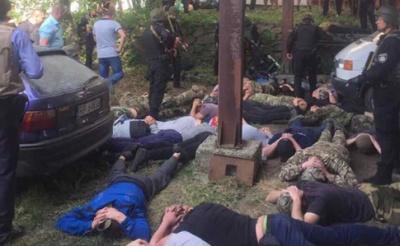 Стрельба в Винницкой области: 45 задержанных взяты под стражу