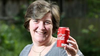 Британка похудела на четыре размера, отказавшись от сладкого напитка