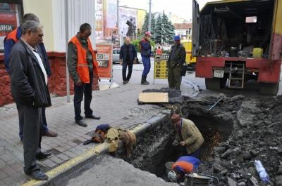 Центр Черновцов может остаться без газа, потому что денег на ремонт сетей нет