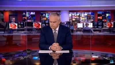 Конфуз в прямом эфире: ведущий канала BBC две минуты просидел молча (ВИДЕО)