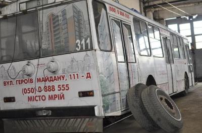 «Пенсионеры ремонтируют «пенсионеров»: работники троллейбусного управления в Черновцах о закупке применяемых троллейбусов