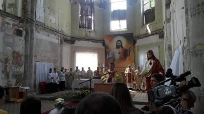 В костеле Сердца Иисуса в Черновцах отметили храмовый праздник (ФОТО)